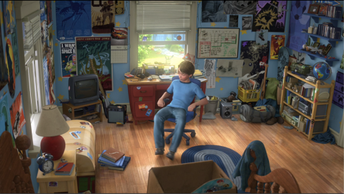 Clean your room Andy! [Source: Pixar]