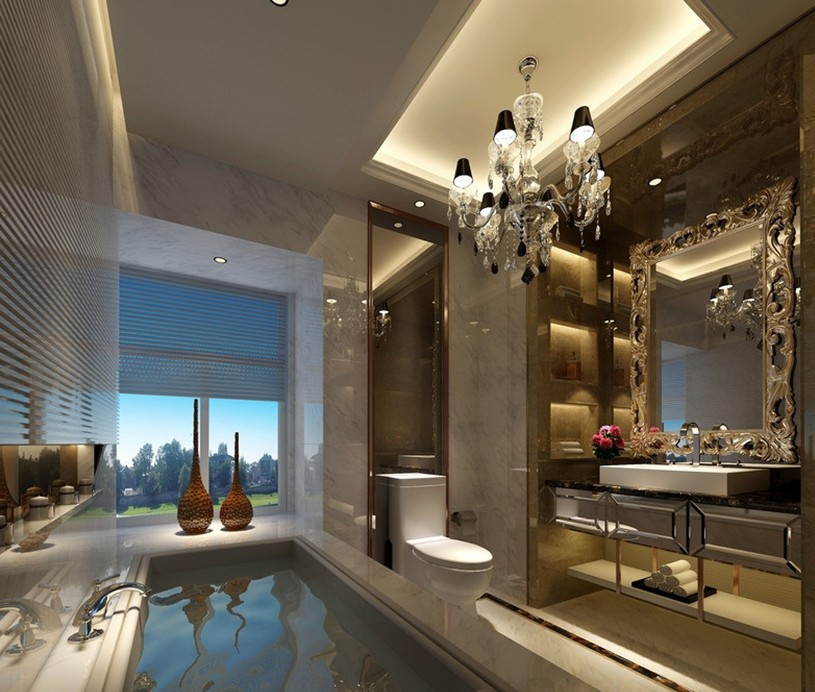 6 simple ways to make your bathroom look expensive kaodim for Best luxury interior designers
